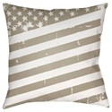 Surya Americana III Pillow - Item Number: SOL013-1818