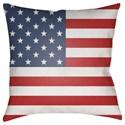 9596 Americana Pillow - Item Number: SOL001-2020