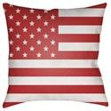 Surya Americana Pillow - Item Number: SOL002-1818
