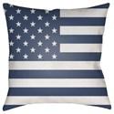 Surya Americana Pillow - Item Number: SOL003-1818