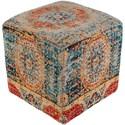 Surya Amsterdam Cube Pouf - Item Number: AMPF001-181818
