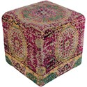 Surya Amsterdam Cube Pouf - Item Number: AMPF004-181818