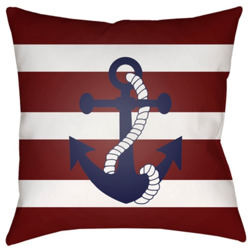 Anchor II Pillow by Ruby-Gordon Accents at Ruby Gordon Home