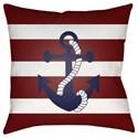 Surya Anchor II Pillow - Item Number: LAKE001-1818