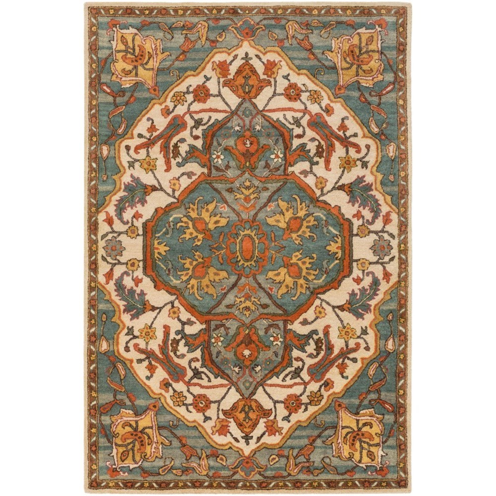 Ancient Treasures 5' x 8' Rug by Ruby-Gordon Accents at Ruby Gordon Home