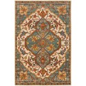 Surya Ancient Treasures 8' Round Rug - Item Number: A179-8RD