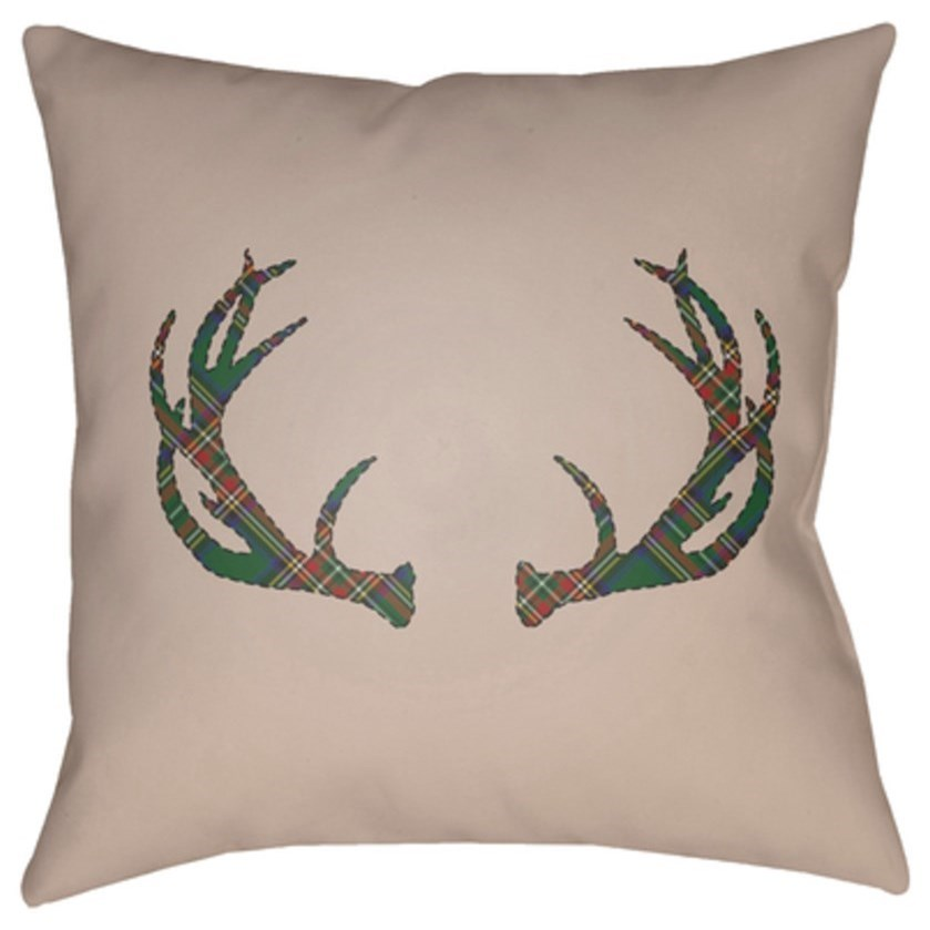 Antlers Pillow by 9596 at Becker Furniture