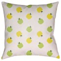 Surya Apples Pillow - Item Number: LIL007-2020
