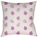Surya Apples Pillow - Item Number: LIL008-2020