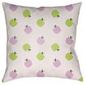 Surya Apples Pillow - Item Number: LIL009-1818