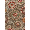 "Surya Arabesque 6'7"" x 9'6"" Rug - Item Number: ABS3020-6796"