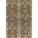 "Surya Arabesque 1'10"" x 2'11"" Rug - Item Number: ABS3040-110211"