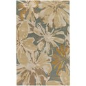 Surya Athena 4' Square Rug - Item Number: ATH5149-4SQ