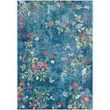 "Surya Aura silk 2'7"" x 7'6"" Runner - Item Number: ASK2334-2776"