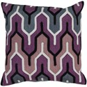 Surya Aztec Pillow - Item Number: AR107-2222