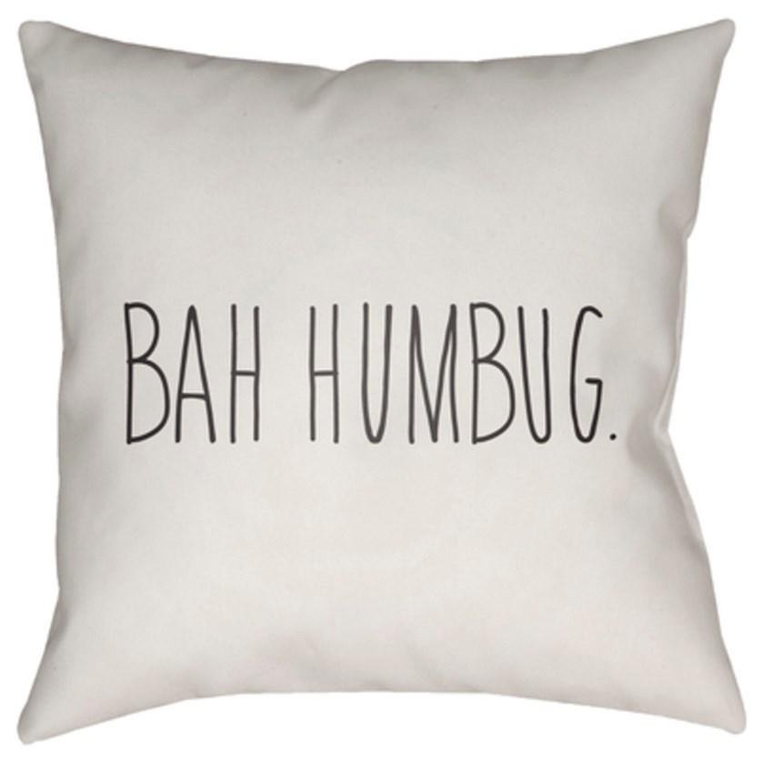 Surya Bahhumbug Pillow - Item Number: HDY003-2020