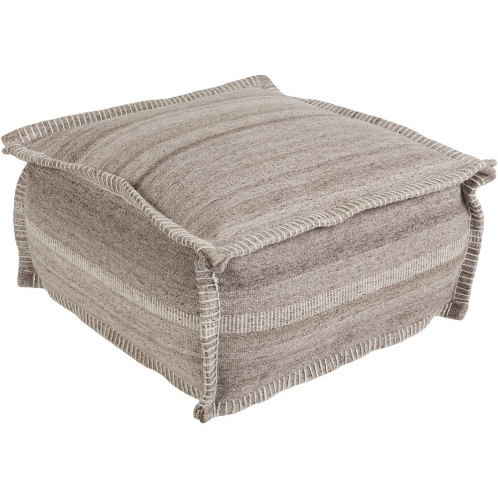 Barnsley Square Pouf by 9596 at Becker Furniture