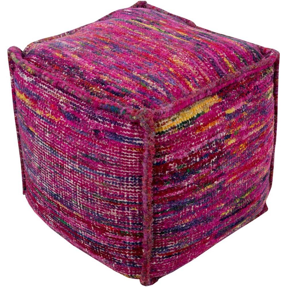 Bazaar 18 x 18 x 18 Cube Pouf by 9596 at Becker Furniture