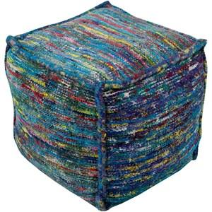 Surya Bazaar 18 x 18 x 18 Cube Pouf
