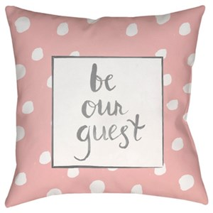 Surya Be Our Guest Pillow