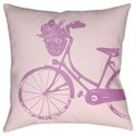 Surya Bicycle Pillow - Item Number: LIL011-1818