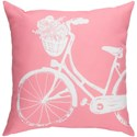 Surya Bicycle Pillow - Item Number: LIL013-1818