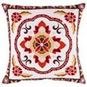 Surya Botanical Pillow - Item Number: FF025-2222D