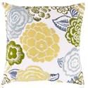 Surya Botanical Pillow - Item Number: FF027-2222D