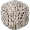 Surya Braga Cube Pouf - Item Number: BGPF001-161616