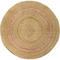 Surya Brice 8' Round Rug - Item Number: BIC7010-8RD