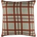 Surya Brigadoon Pillow - Item Number: BRG003-2222