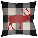 Surya Buffalo Pillow - Item Number: PLAID020-2020