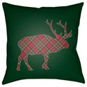Surya Buffalo Pillow - Item Number: PLAID022-2020