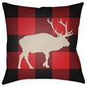 Surya Buffalo Pillow - Item Number: PLAID024-1818