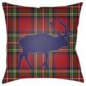 Surya Buffalo Pillow - Item Number: PLAID034-1818