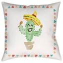 Surya Cactus Pillow - Item Number: WMAYO028-2020