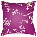 Surya Chinoiserie Floral Pillow - Item Number: CF002-2222