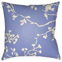 Surya Chinoiserie Floral Pillow - Item Number: CF003-2222