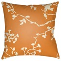 Surya Chinoiserie Floral Pillow - Item Number: CF004-2222