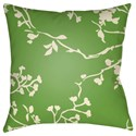 Surya Chinoiserie Floral Pillow - Item Number: CF005-2222