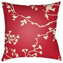 Surya Chinoiserie Floral Pillow - Item Number: CF008-2020