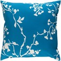 Surya Chinoiserie Floral Pillow - Item Number: CF010-2222