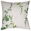 Surya Chinoiserie Floral Pillow - Item Number: CF012-2222