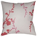 Surya Chinoiserie Floral Pillow - Item Number: CF013-2222
