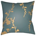 Surya Chinoiserie Floral Pillow - Item Number: CF016-2222