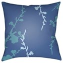 Surya Chinoiserie Floral Pillow - Item Number: CF018-2222