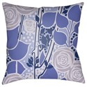 Surya Chinoiserie Floral Pillow - Item Number: CF020-2020