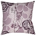 Surya Chinoiserie Floral Pillow - Item Number: CF022-2222