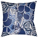 Surya Chinoiserie Floral Pillow - Item Number: CF023-1818
