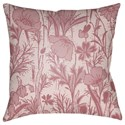 Surya Chinoiserie Floral Pillow - Item Number: CF029-2222